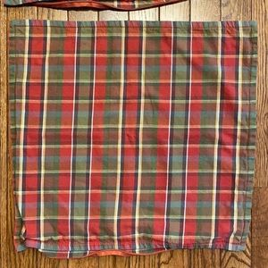 Pottery Barn Plaid Pillow Covers